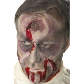 A Hole In The Head Scar Bullet Wound - Fancy Dress (Halloween)