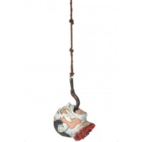 Decapitated Head Hanging From Hook - Fancy Dress (Halloween)