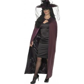 Reversible Cape - Fancy Dress Ladies (Halloween)