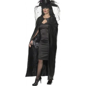 Deluxe Witches Cape - Fancy Dress (Halloween)