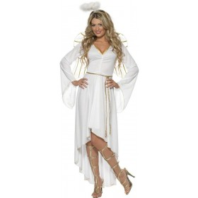 Angel Fancy Dress Costume Ladies (Christmas)