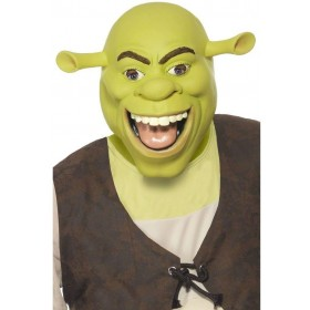 Shrek Latex Mask Fancy Dress (Cartoon , Film , Halloween , Tv)