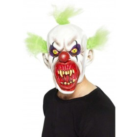 Sinister Clown Mask Fancy Dress (Clowns)