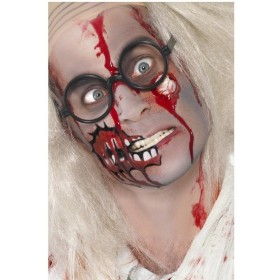 Zombie Make Up Set Includes Scar And Blood Fancy Dress (Halloween)