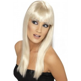 Glamourama Wig - Fancy Dress Ladies - Blonde