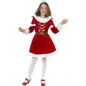 Little Miss Santa Fancy Dress Costume Girls (Christmas)