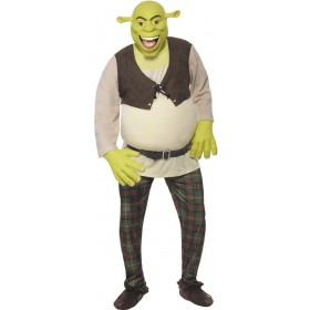 Shrek Fancy Dress Costume Mens (Cartoon , Film , Halloween , Tv)