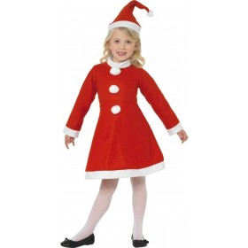 Value Santa Girl Fancy Dress Costume Girls (Christmas)