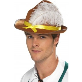 Bavarian Hat Fancy Dress Mens (Cultures)