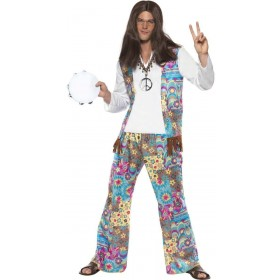 Groovy Hippie Fancy Dress Costume (1960S)