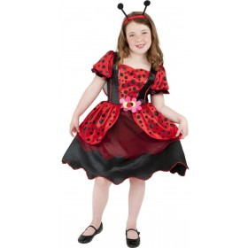 Little Lady Bug Fancy Dress Costume Girls