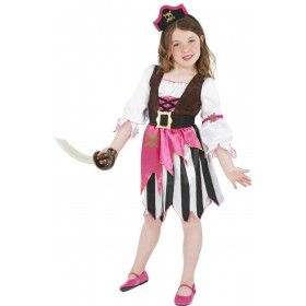 Pink Pirate Girl - Fancy Dress Girls (Pirates)