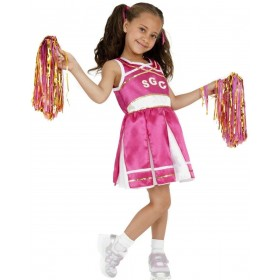 Cheerleader Fancy Dress Costume Girls (Sport)