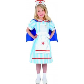Vintage Nurse Fancy Dress Costume Girls (Doctors/Nurses)