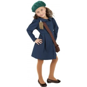 World War Ii Evacuee Girl Fancy Dress Costume Girls