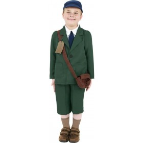 World War Ii Evacuee Boy Fancy Dress Costume Boys (1920S)