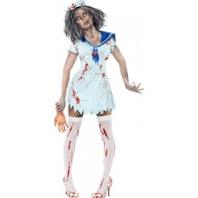Zombie Sailor , Female Fancy Dress Costume