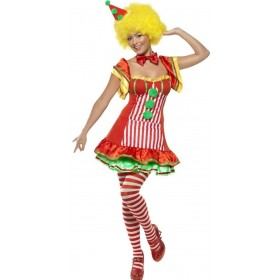 Boo Boo The Clown Fancy Dress Costume Ladies (Clowns)