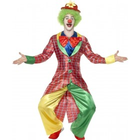 La Circus Deluxe Clown Fancy Dress Costume Mens (Clowns)
