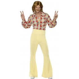 1960'S Groovy Guy Fancy Dress Costume Mens (1960S)