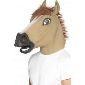 Horse Mask Fancy Dress Accessory