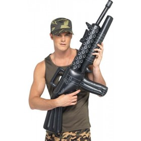 Inflatable Machine Gun (Army Fancy Dress Guns)