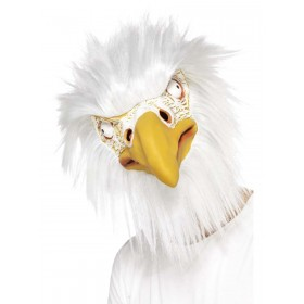 Eagle Mask, Full Overhead Fancy Dress Accessory