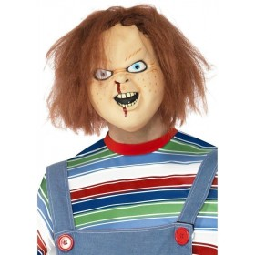 Chucky Mask Fancy Dress Mens (1970S , 1980S , Film , Halloween , Tv)