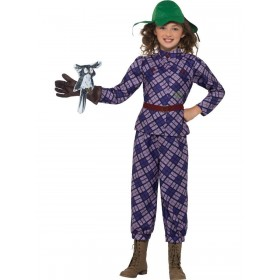 David Walliams Deluxe Awful Auntie Costume Fancy Dress