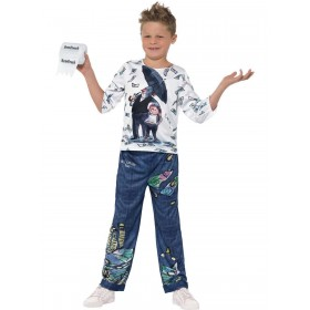 David Walliams Deluxe Billionaire Boy Costume Fancy Dress