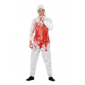 Bloody Forensic Overall Costume Fancy Dress