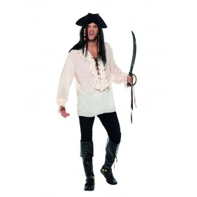Pirate Shirt Fancy Dress Costume