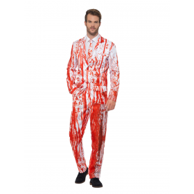 Blood Drip Suit Fancy Dress Costume