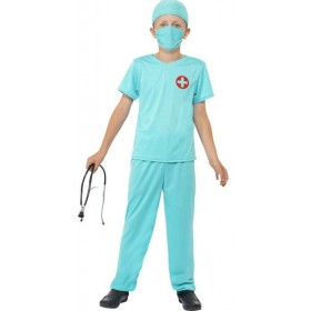 Boys Hospital Surgeon Fancy Dress Costume