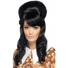 60s Brigitte Bouffant Wig Fancy Dress Accessory