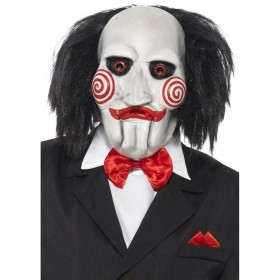 Saw Jigsaw Mask Fancy Dress Accessory