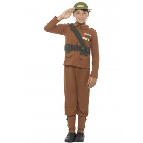 Horrible Histories Soldier Costume Fancy Dress