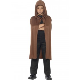 Cape Hooded Fancy Dress Costume