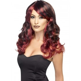Ombre Wig, Devilish Fancy Dress Accessory