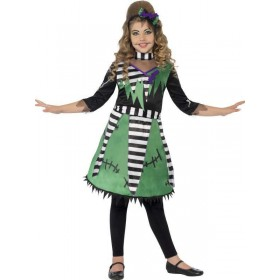 Girl'S Freaky Frankie Halloween Fancy Dress Costume