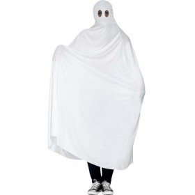 Men'S Spooky Ghost Halloween Fancy Dress Costume