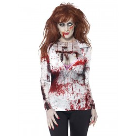 Zombie Female Fancy Dress Costume