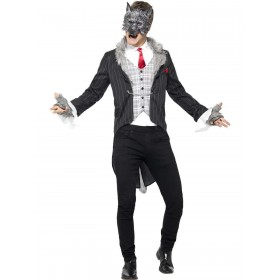 Big Bad Wolf Costume, Deluxe Fancy Dress