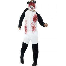 Deluxe Zombie Panda Costume Fancy Dress