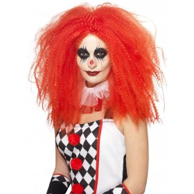 Clown Wig Fancy Dress Accessory