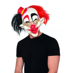 Creepy Clown Mask Fancy Dress Accessory