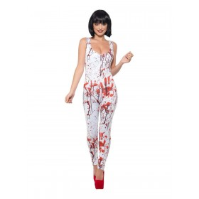 Fever Blood Splatter Costume Fancy Dress