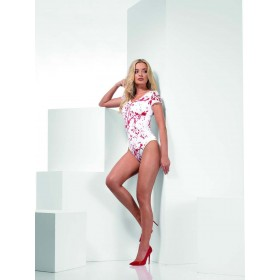 Opaque Bloody Bodysuit Fancy Dress Accessory