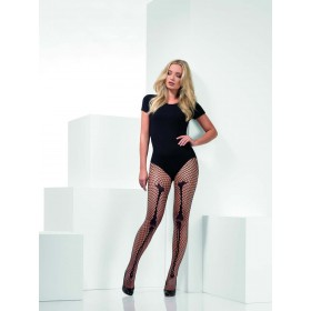 Skeleton Bone Net Tights Fancy Dress Accessory