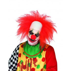 Clown Wig, Deluxe Fancy Dress Accessory